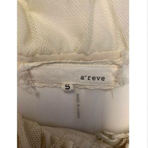 A'Reve Tops - A'reve Romantic Sheer Top
